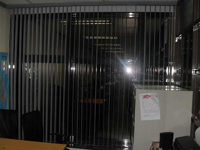 Installation of Vertical Blinds at Makati City Philippines