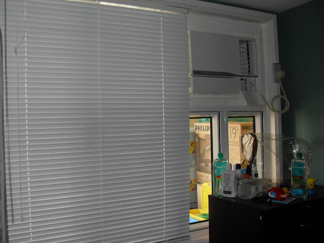 Ortigas Ave. Pasig City Philippines Installation of Miniblinds