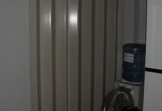 Installed Accordion Door at Sta. Mesa Manila Philippines