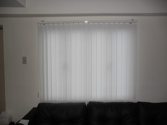 Installation of Fabric Vertical Blinds at Malate Manila