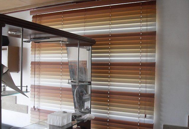 Installed faux wood blinds at Cityland Mandaluyong Executive, Mandaluyong City