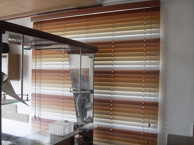 Installed faux wood blinds at Cityland Mandaluyong Executive, Mandaluyong City