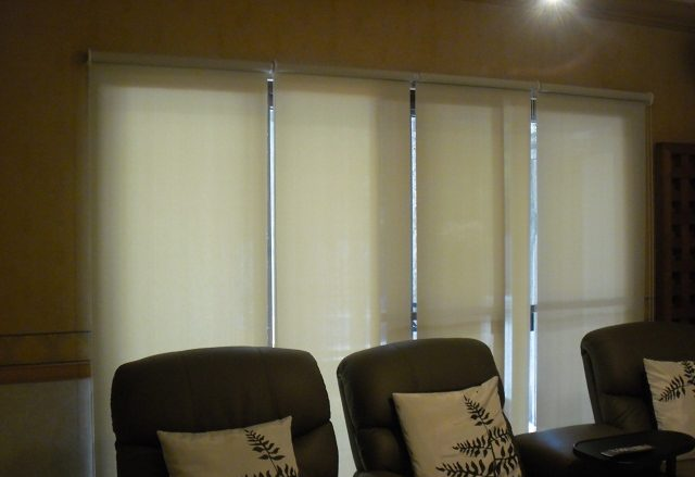 Roller Blinds Installed at Pasig City, Philippines