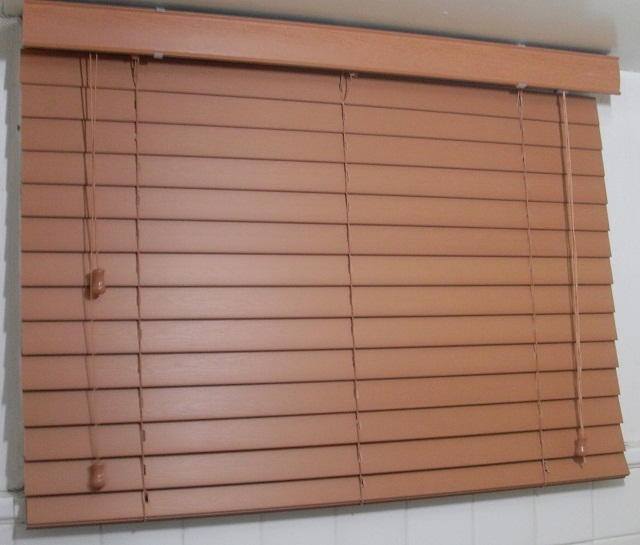 Faux Wood Blinds - Birch in Color