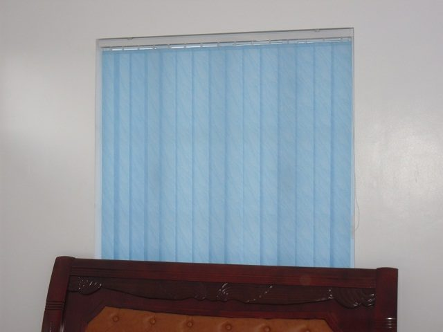 Fabric Vertical Blinds at San Pedro, Laguna, Philippines