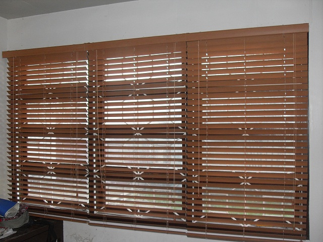 An Elegant Durawood Blinds at Taguig City, Philippines