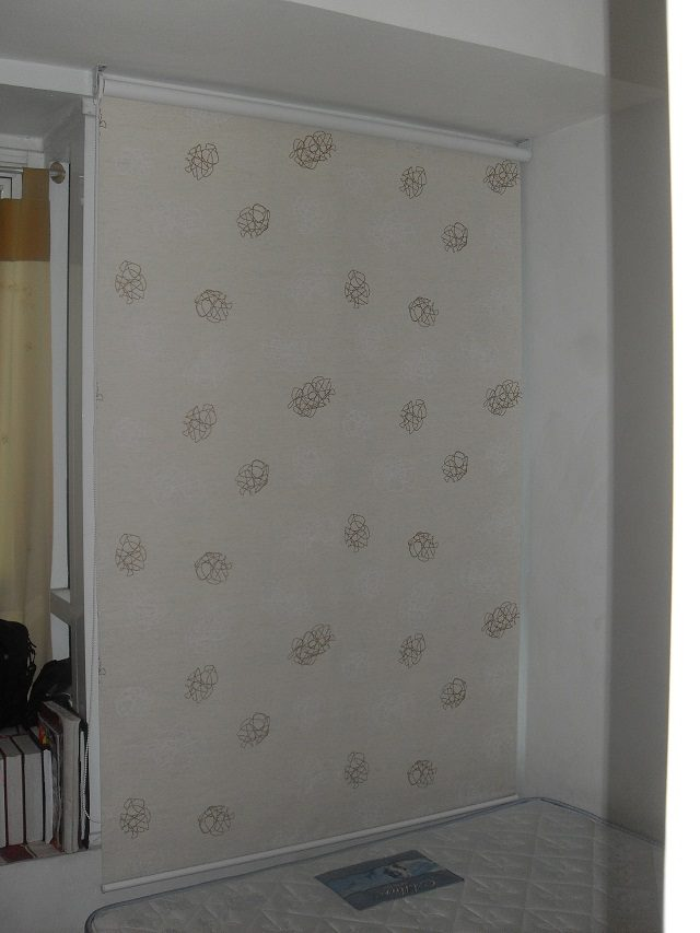 Roller Blinds Installed at Sta.Mesa, Quezon City, Philippines