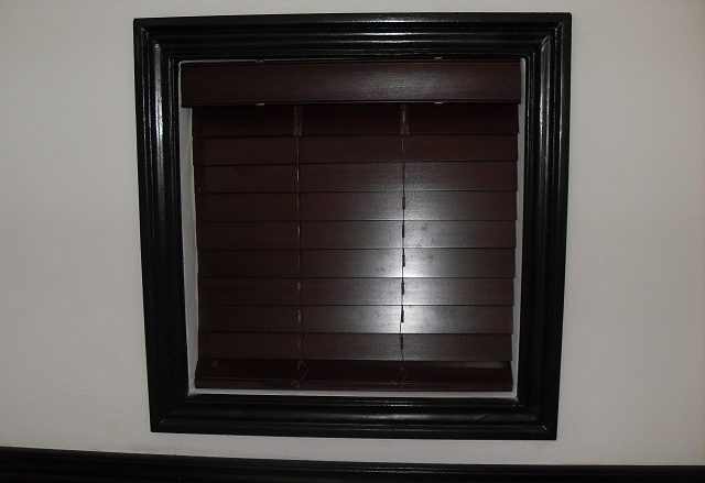 Wooden Blinds - Mahogany