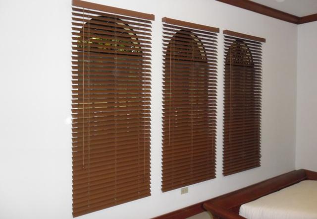 DS Windows & Walls Creation - Faux Wood Blinds at Dasmarinas Village