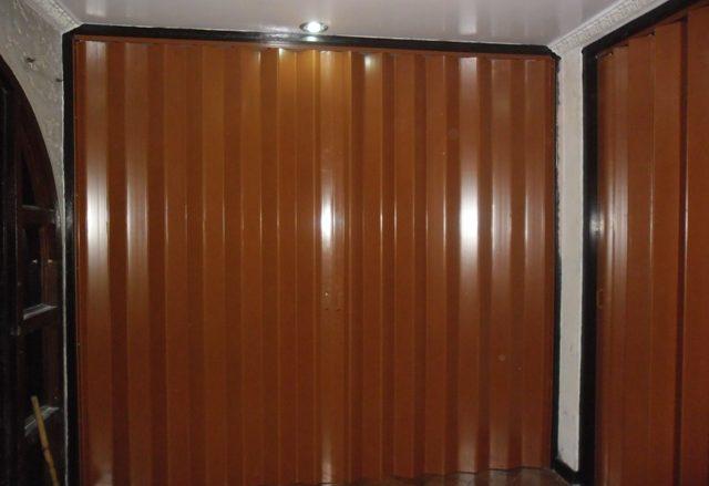 PVC Accordion Door Installed at Makati City, Philippines