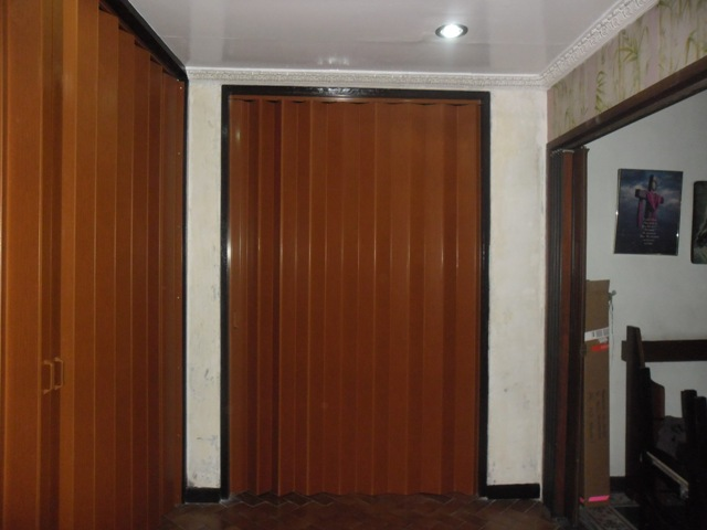 PVC Accordion Door Installed at Makati City , Philippines