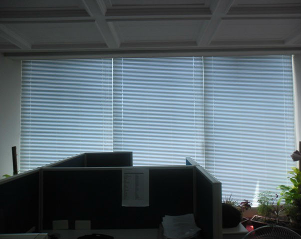 Installation of Venetian Blinds at Makati City