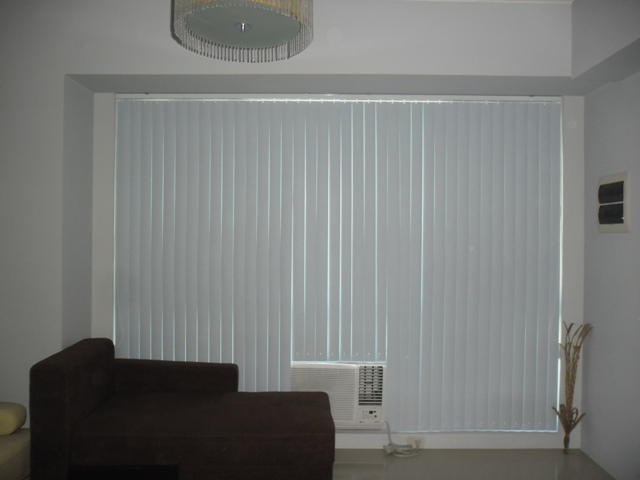 PVC Vertical Blinds Installed at Caloocan City, Philippines