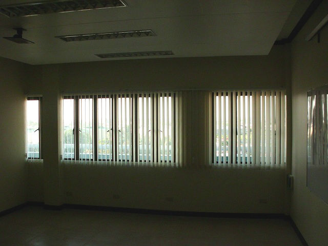 Fabric Vertical Blinds Installation in Greenbelt, Makati City