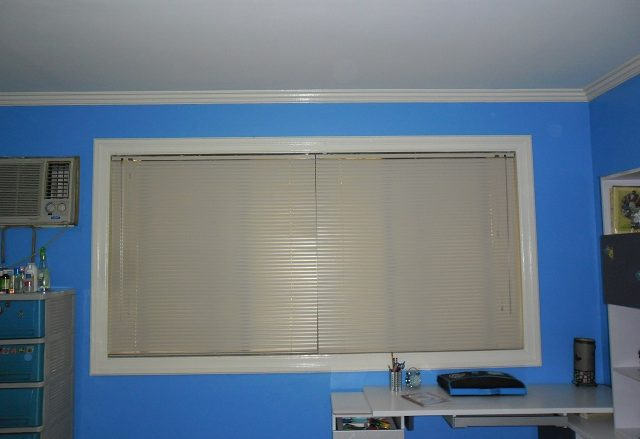Mini Blinds Installed at Pasig City, Philippines