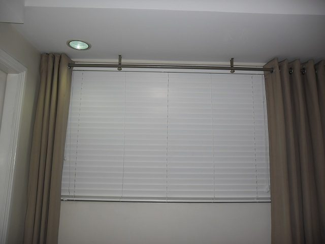 Wooden Blinds Installed at Marikina City , Philippines