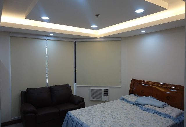 Blackout Roller Blinds Installed at Ortigas Center, Pasig City, Philippines