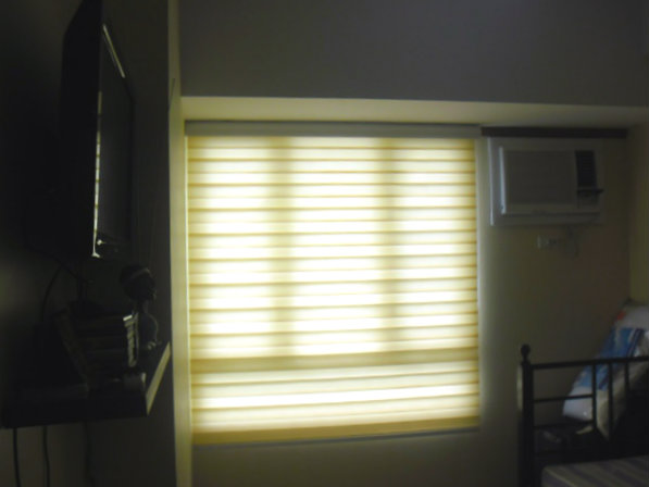 "Combi blinds ""G103 BEIGE"" Installed at Nasugbu Batangas, Philippines"