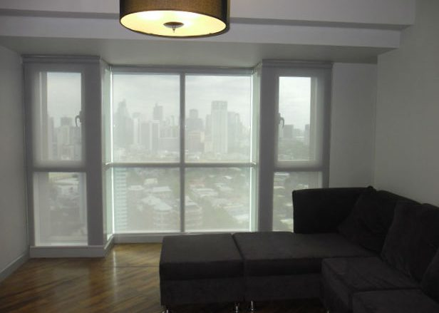 Sunscreen Roller Shades Installation in Rockwell, Makati City, Philippines