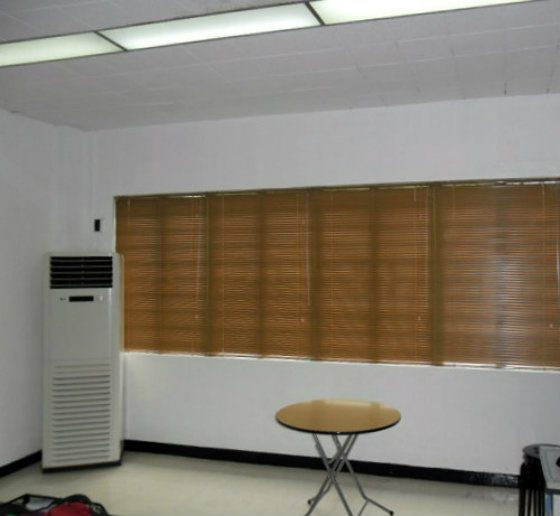 Mini Blinds as Heat and Light Blocking Material Installation in Cavite City, Philippines