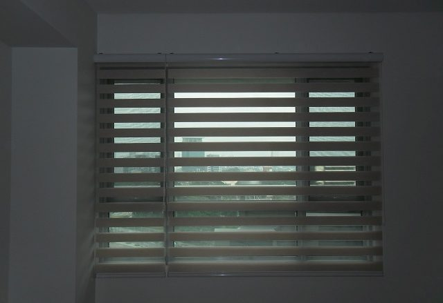 Combi Blinds for a Peaceful and Tranquil Home Interior, Installed at Taguig City, Philippines