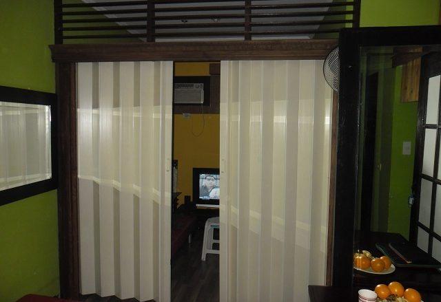 Accordion Door as Room Partition in Ortigas City, Philippines
