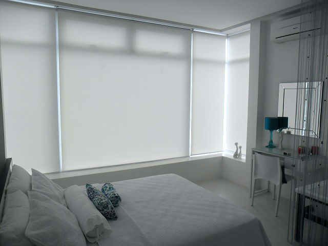 Roller Blinds And The Effect Of Prominent White Color Into Home Interior U2013  Nasugbu, Batangas