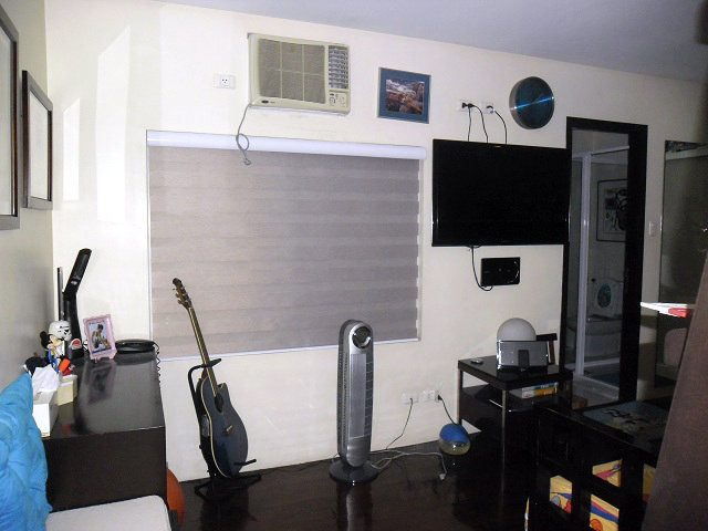 Gray Combi Blinds Installed at Laguna City, Philippines
