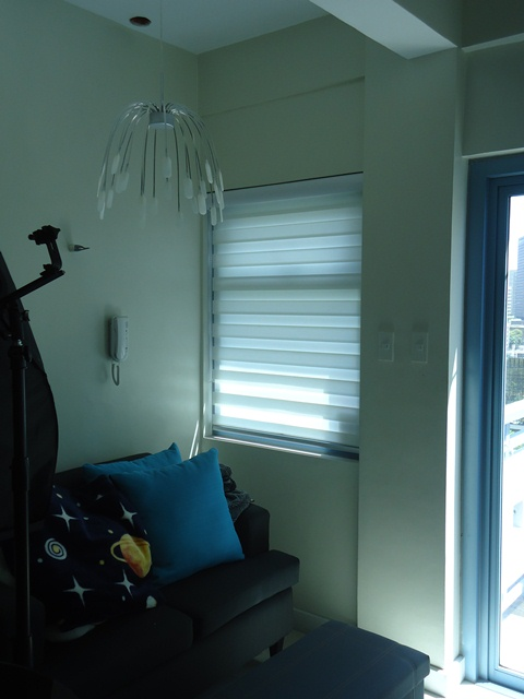 Combi Blinds Installed at Sta.Mesa Manila, Philippines