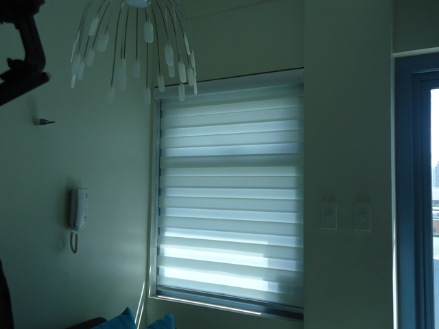"""Installation of Combi Blinds """"W201 White"""" at Fairview Quezon City, Philippines"""