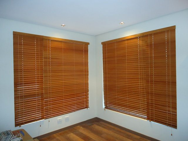 Wood Blinds Installed in Navotas City, Philippines