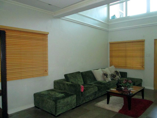 Wooden Blinds Installed at Mandaluyong City, Philippines