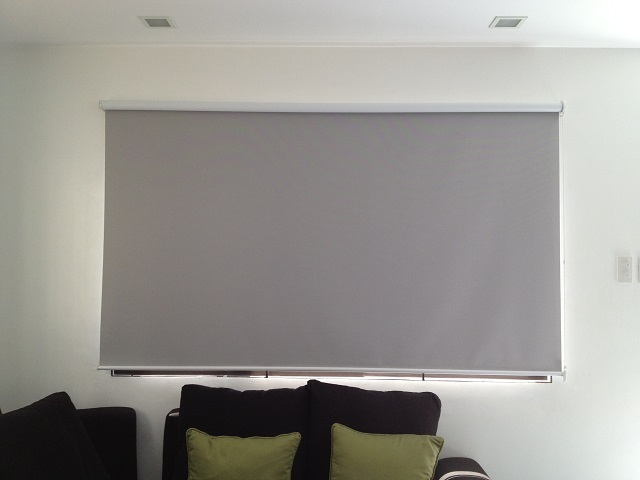 Installed Blackout Roller Blinds in Las Pinas City, Philippines