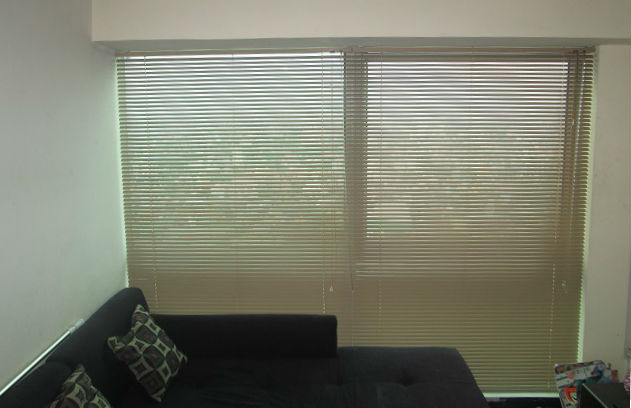 Installed Venetian Blinds in San Juan City, Philippines