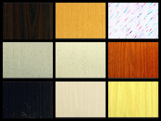 Available Colors for Regular Type of PVC Accordion Door