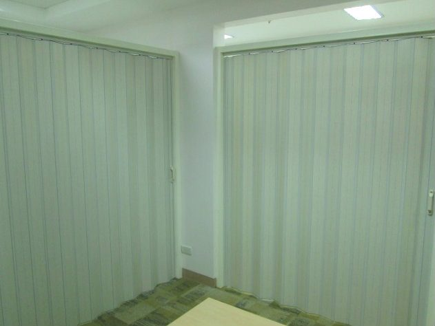 Installation of PVC Accordion Door at Mandaluyong City, Philippines