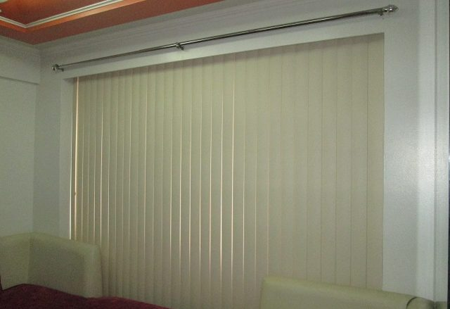 PVC Accordion Door Perfect For Wide Glass Wall at HOme