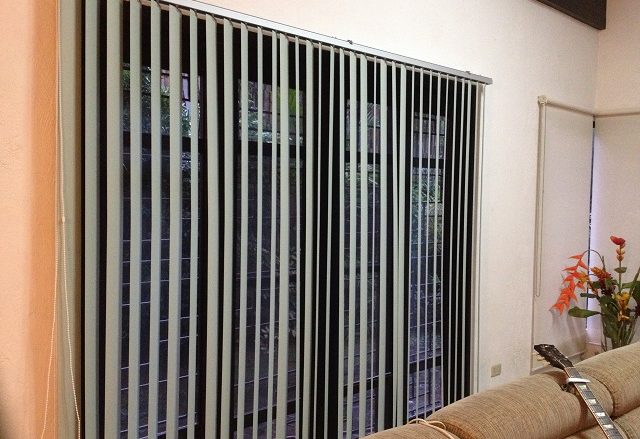 Beautiful PVC Vertical Blinds for Living Room