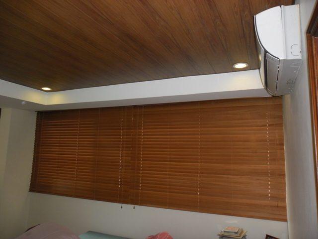Elegant Wood Blinds in Lucena City