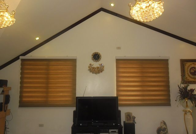 Chic and Affordable Combi Blinds for Vacation House in Cebu City