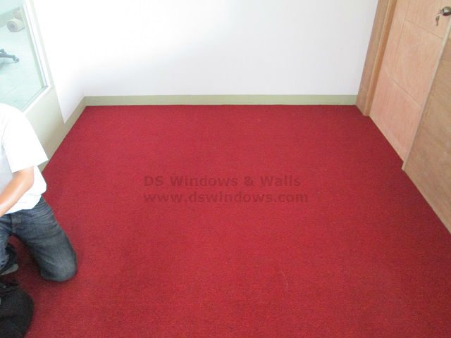 Installed Carpet in Fort Bonifacio, Taguig
