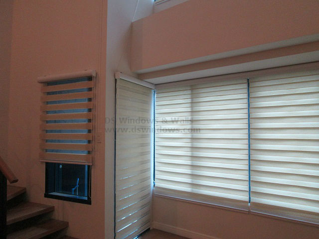 Installed Beautiful and Stylish Combi Blinds