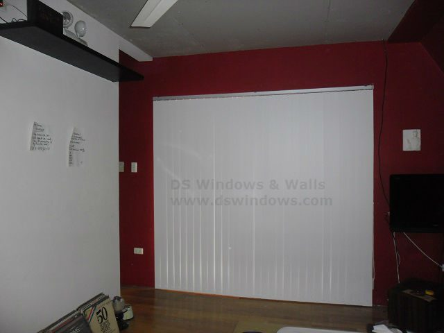 PVC Vertical Blinds for both Commercial and Residential Areas