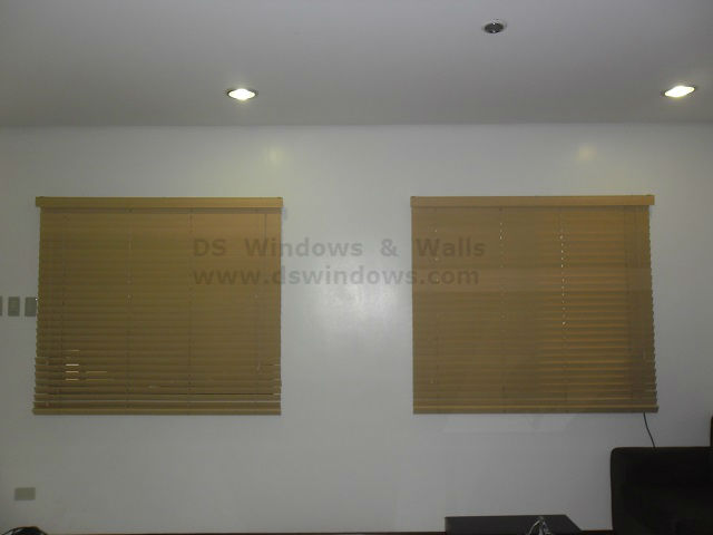 Faux Wood Blinds for Humid Environment