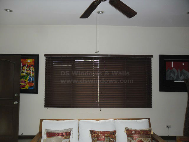 Faux Wood Blinds in East Wood, Libis, Quezon City