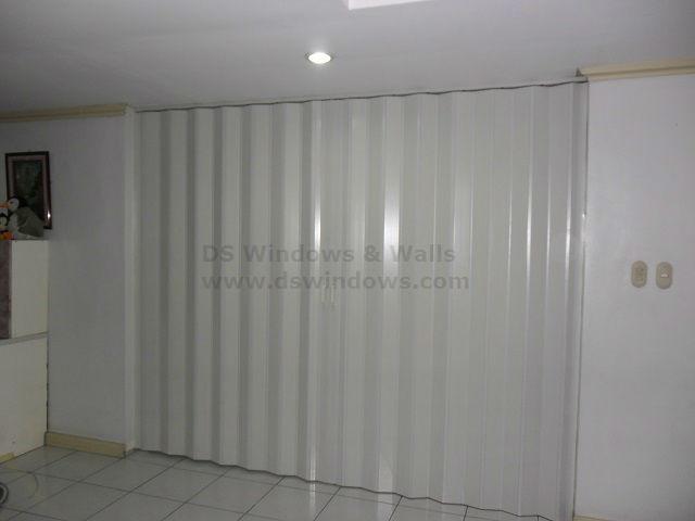 White Ash Folding Door