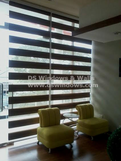 Installed Combination Blinds in Marcelo Green, Paranaque City