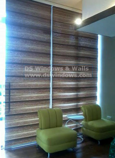 Beautiful Combination Blinds for your Business
