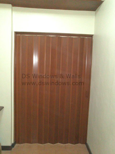 PVC Folding Door Installed at Forbes Park, Makati City