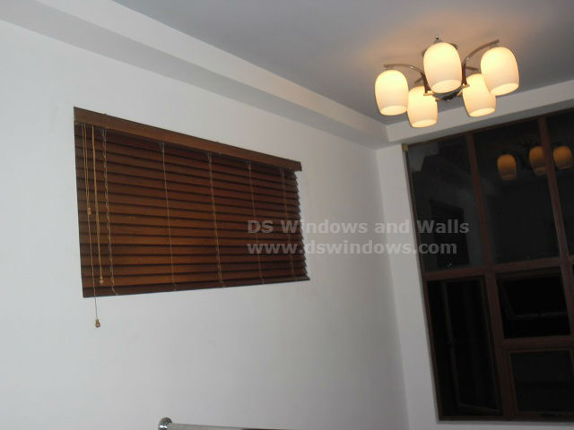 Wood Blinds Installed in BF Homes Parañaque